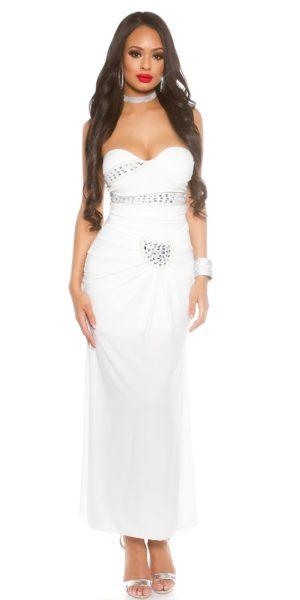 Visualizzazione Veloce. Abbigliamento. AL009 Abito da cerimonia lungo  elegante da matrimonio bianco abito da sera f39b3bee1c3