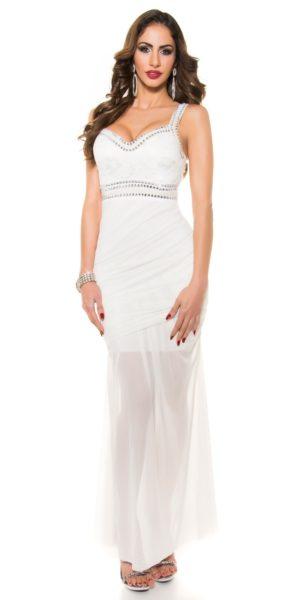 Visualizzazione Veloce. Abbigliamento. AL019 Abito da cerimonia lungo  elegante da matrimonio bianco ... 32568556b56