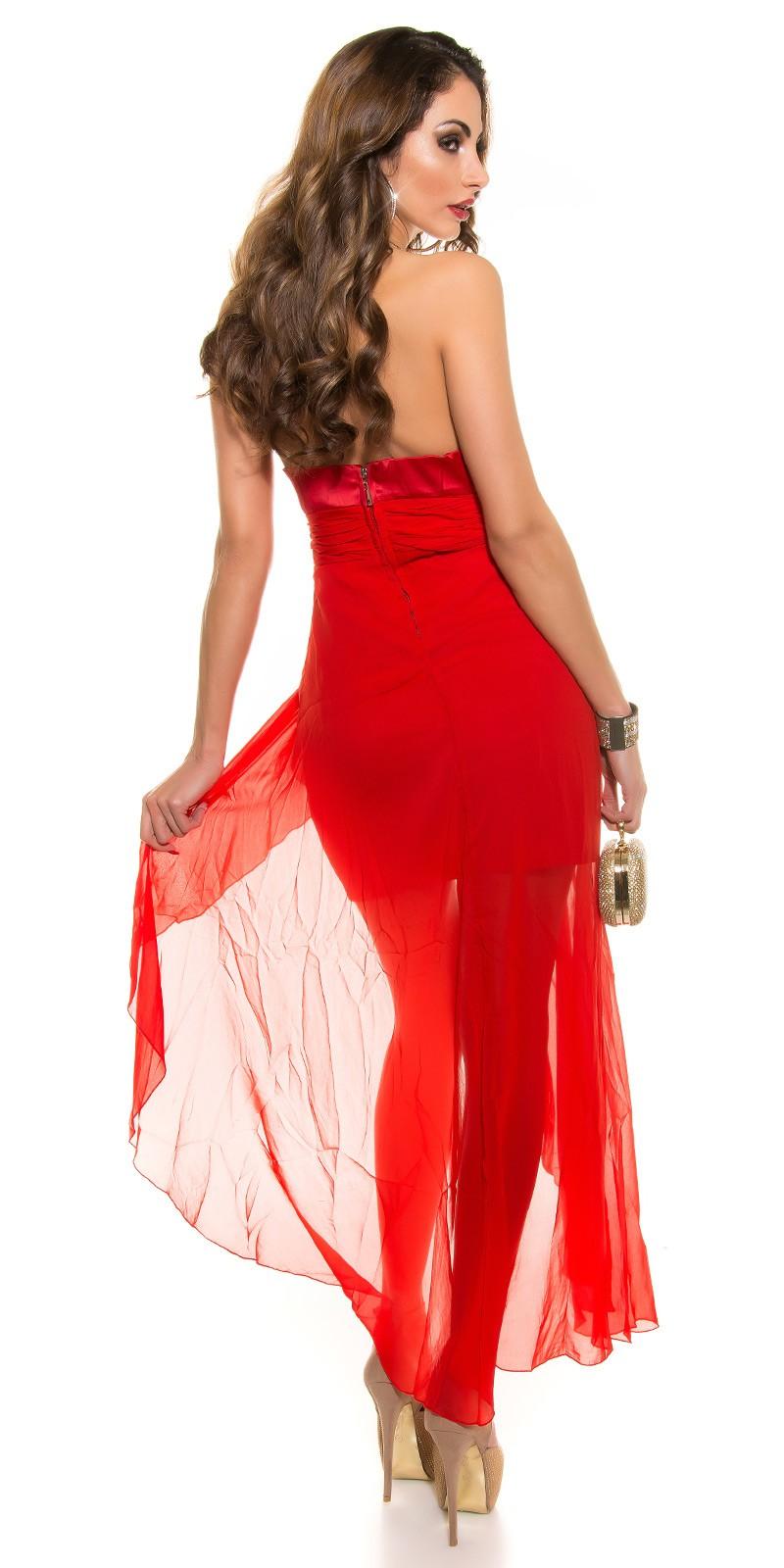 AL020 Abito da cerimonia lungo elegante da matrimonio rosso abito da sera 9b9cd95788a