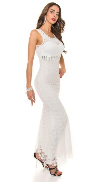 Visualizzazione Veloce. Abbigliamento. AL012 Abito da cerimonia in pizzo lungo  elegante da matrimonio bianco abito da sera a1701f77b36