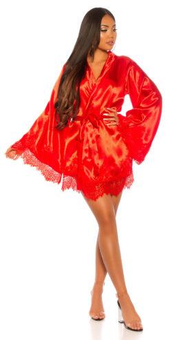 vestaglia kimono rosso