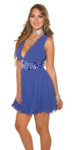 abito corto blu reale