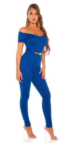 tuta elegante blu reale